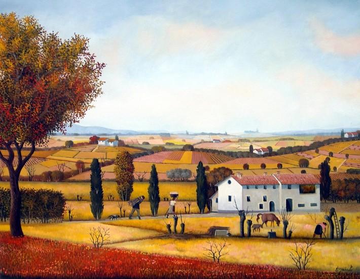 ארבע העונות: אמנות נאיבית מאיטליה