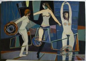 שלוש נשים, אדם בקרמן