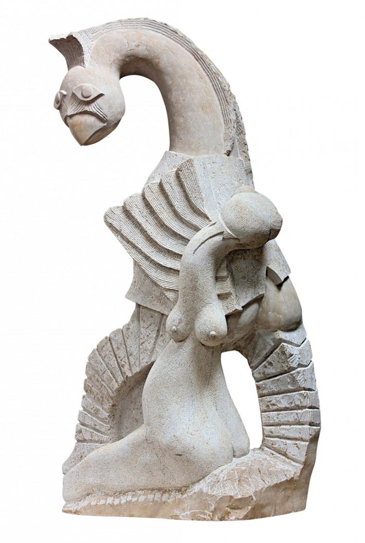 'לעוף עם הפסלים', גד פרנק – 35 שנות פיסול